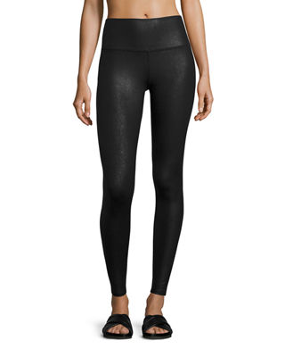 Image 1 of 3: Airbrush Printed High-Waisted Sport Leggings