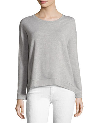 Image 1 of 2: Soft-Touch French Terry Sweatshirt