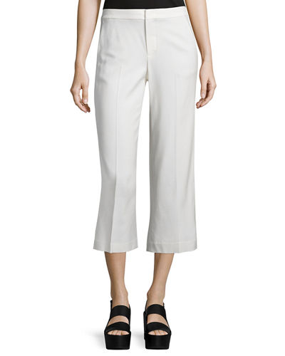 Tailored Cropped Culottes