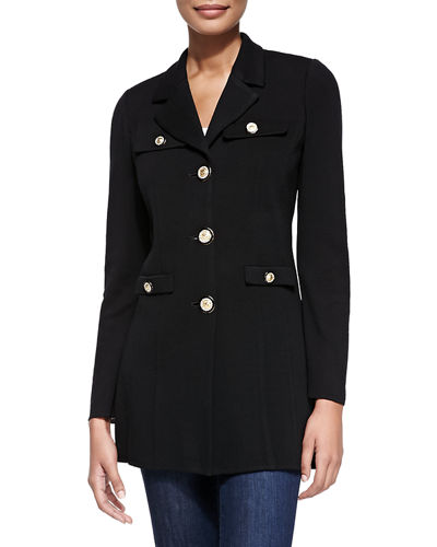 Misook Dressed Up Button-Front Jacket, Petite and Matching