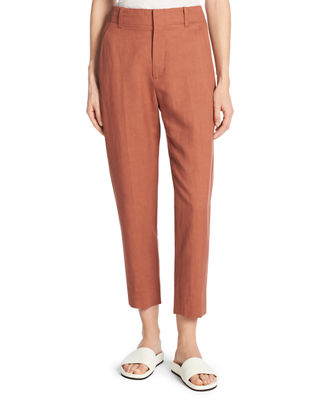 Vince Sateen Cropped Carrot Pants and Matching Items