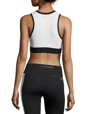Image 2 of 4: Swell Crop Tank/Sports Bra