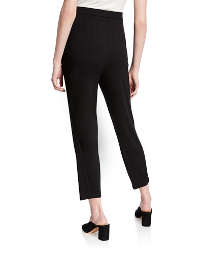 Slim Slouchy Ankle Pants