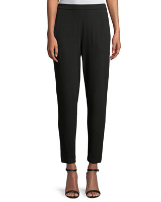 Eileen Fisher Slim Slouchy Ankle Pants, Petite and