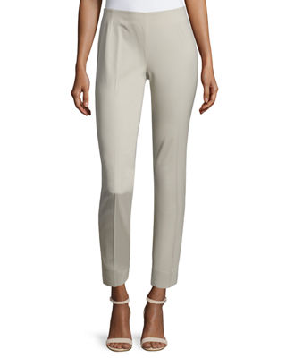 Lafayette 148 New York Stanton Stretch-Wool Pants