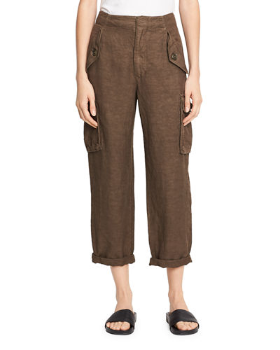 Vince Straight-Leg Utility Pant and Matching Items