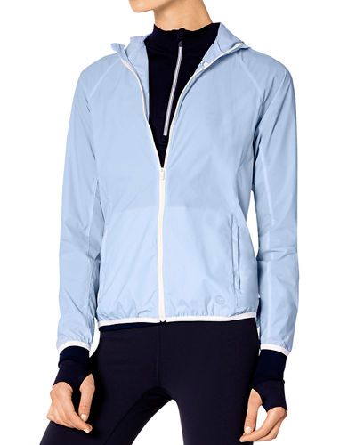 Nylon Packable Performance Jacket