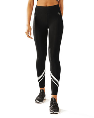 c65e4895e11 Tory Sport Chevron Full-Length Performance Leggings