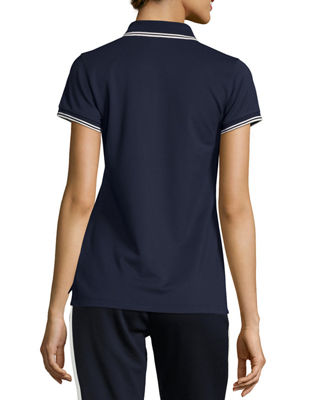 Image 3 of 5: Performance Piqué Polo Shirt