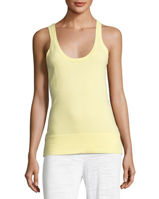 Minnie Rose Scoop-Neck Knit Tank, Plus Size