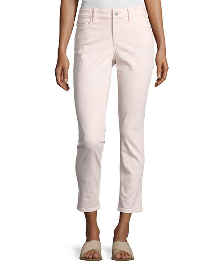 Image 4 of 4: NYDJ Alina Convertible Roll-Cuff Cropped Jeans