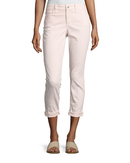 NYDJ Alina Convertible Roll-Cuff Cropped Jeans
