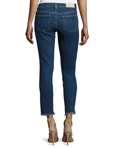 Jarod Cropped Mid-Rise Skinny Jeans