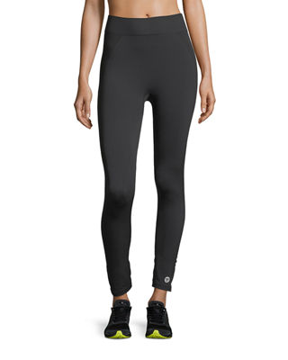 Image 1 of 3: Seamless Cropped 7/8 Performance Leggings