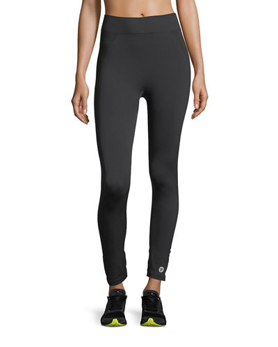 Tory Sport Seamless Cropped 7/8 Performance Leggings