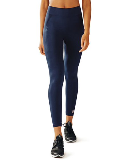 Tory Sport Pants SEAMLESS CROPPED 7/8 PERFORMANCE LEGGINGS
