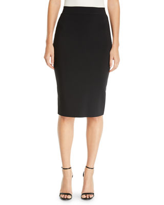 Image 1 of 2: Lumi Stretch Jersey Pencil Skirt