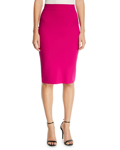 Chiara Boni La Petite Robe Lumi Stretch Jersey Pencil Skirt