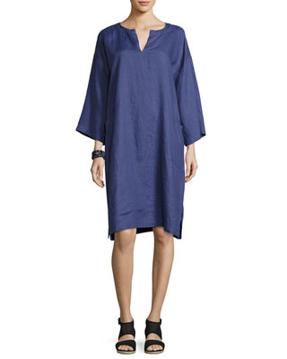 Organic Handkerchief Linen Shift Dress