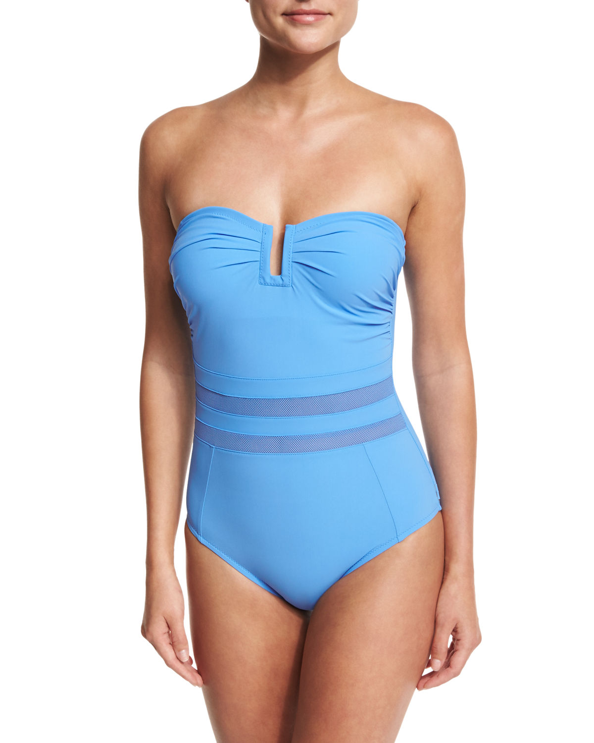 Do You Think I'm Sexy Bandeau One-Piece Swimsuit