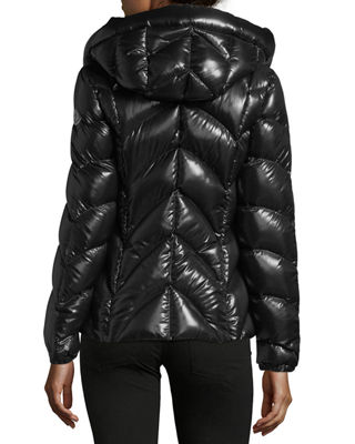 Image 2 of 4: Akebia Hooded Wave Puffer Jacket