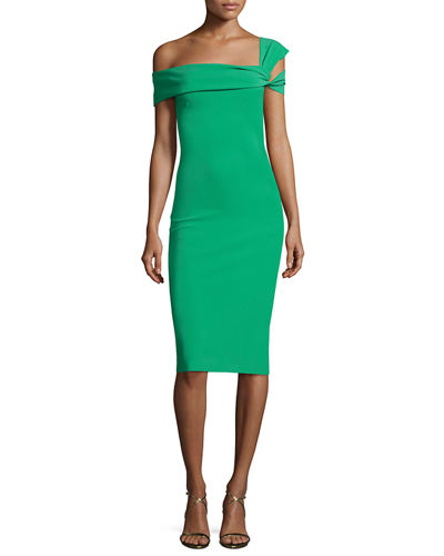 Chiara Boni La Petite Robe Laia One-Shoulder Stretch