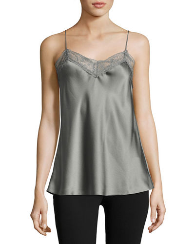 Lace Satin Camisole