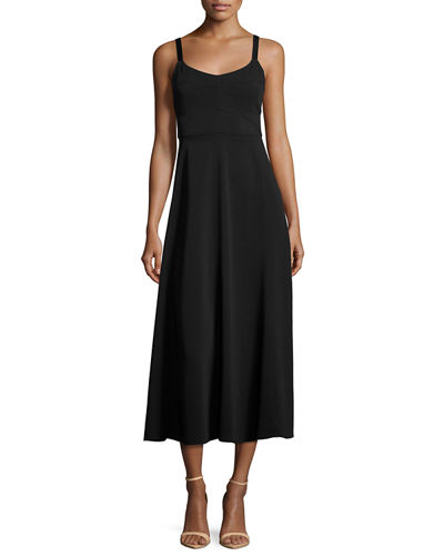 Elizabeth and James Cynthia Fit & Flare Sleeveless