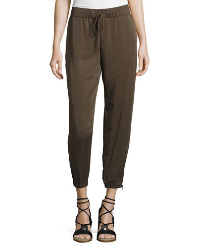 Eileen Fisher Tencel® Twill Drawstring Pants