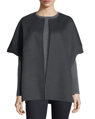 Neiman Marcus Cashmere Collection Luxury Double-Faced Cashmere