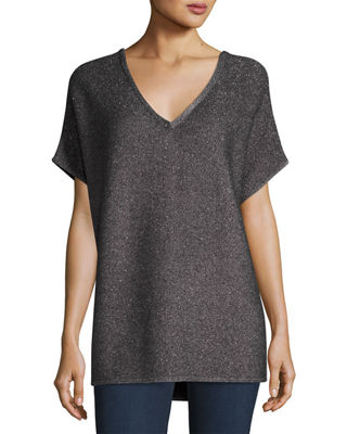 Cashmere V-Neck Top
