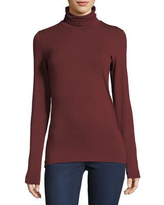 Image 1 of 2: Soft Touch Turtleneck Top