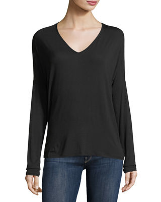 Majestic Paris for Neiman Marcus Soft Touch Long-Sleeve