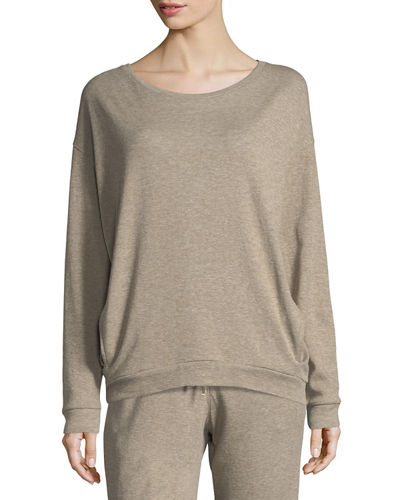 Majestic Paris for Neiman Marcus Crewneck Cotton/Cashmere