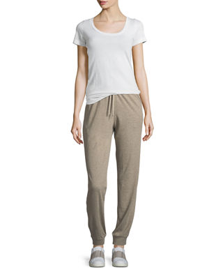Image 3 of 3: Cotton/Cashmere Jogger Pants