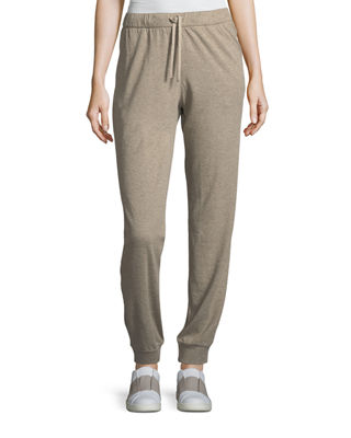 Majestic Paris for Neiman Marcus Cotton/Cashmere Jogger Pants
