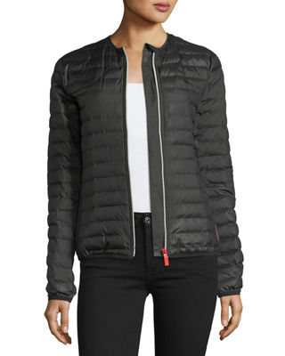 Image 3 of 3: Quilted Puffer Zip-Front Thermolite Jacket