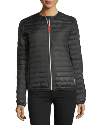 Image 1 of 3: Quilted Puffer Zip-Front Thermolite Jacket