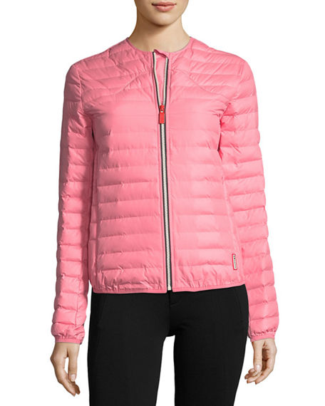 Hunter Boot Quilted Puffer Zip-Front Thermolite Jacket | Neiman Marcus
