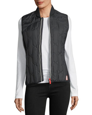 Image 1 of 6: Zip-Front Quilted Mid-Layer Vest