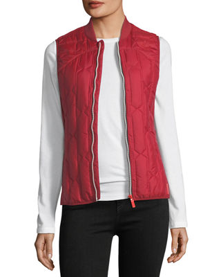 Hunter Boot Zip-Front Quilted Mid-Layer Vest