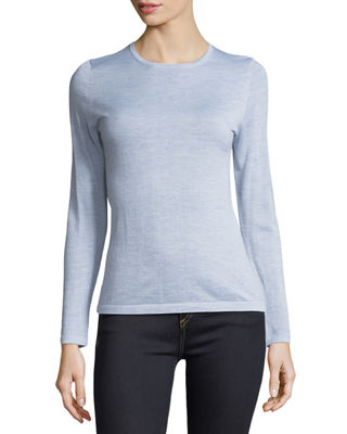 Image 1 of 3: Modern Superfine Cashmere Crewneck Sweater