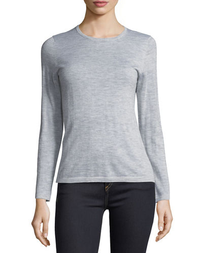 Modern Superfine Cashmere Crewneck Sweater