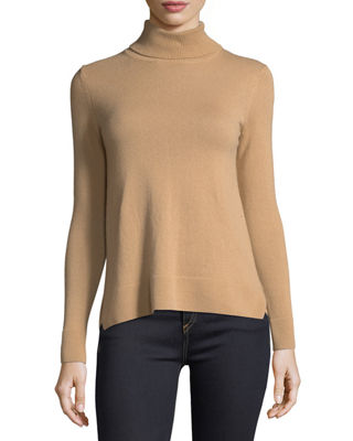 Neiman Marcus Cashmere Collection Cashmere Turtleneck