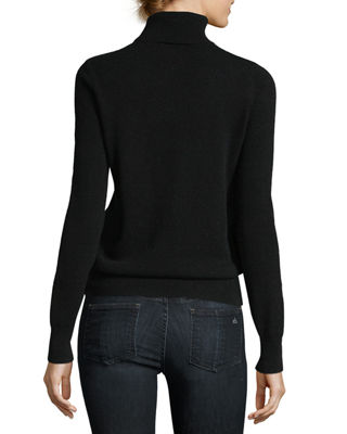 Image 3 of 3: Classic Cashmere Turtleneck