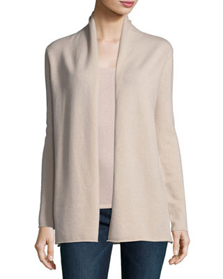 Classic Draped Cashmere Cardigan