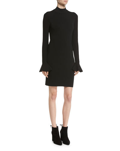 d27de3f2637 Quick Look. MICHAEL Michael Kors · Long Bell-Sleeve Sheath Dress