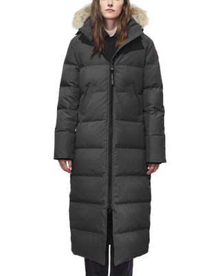 Image 1 of 3: Mystique Fur-Hood Parka