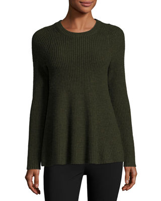 Merino Wool Trapeze Sweater