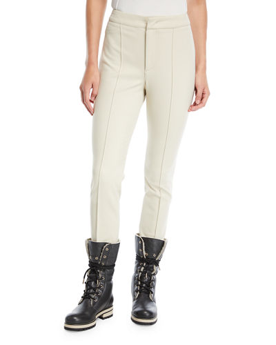 High-Waist Skinny Stirrup Pants